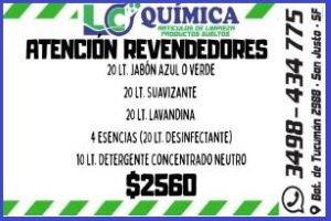 LC quimica Reevendedores