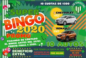 BINGO SANJUSTINO 2020